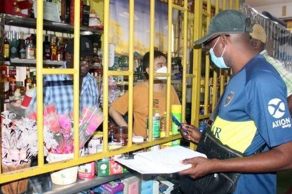 Retrait de marchandise au Surinam