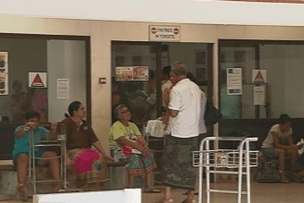 Salle d'attente Hihifo airport