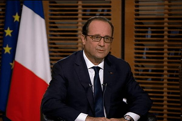 ITW François Hollande pour NC1ère