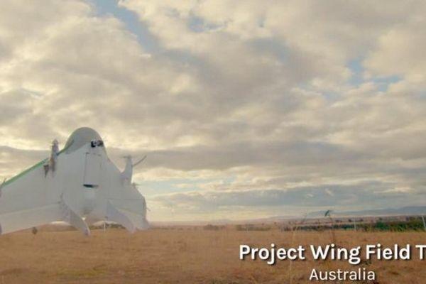 Google teste des drones de livraison en Australie