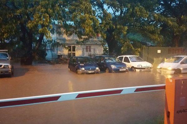 Fortes pluies aux IDV