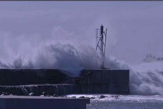 La houle sur les côtes sud et ouest a fait le spectacle...Fin de la vigilance mais la prudence reste recommandée.