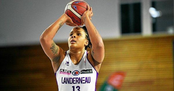 La basketteuse guadeloupéenne Élodie Naigre.