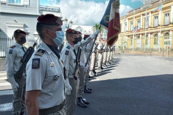 commémoration victoire 8 mai 1945 Saint-Denis 080521