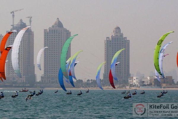 Le Qatar nouveau spot pour le Kitefoil