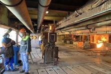 A l'usine SLN de Doniambo, septembre 2021.