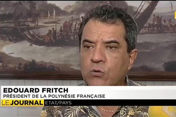 Paris attentif aux plaidoiries d'Edouard Fritch