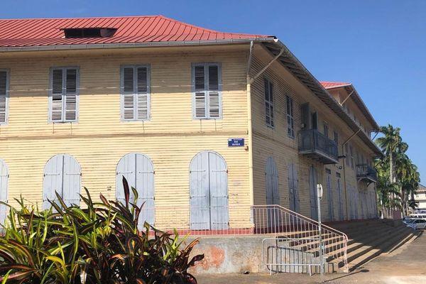L'immeuble Alexandre Franconie où se trouvent le musée et la bibliothèque Franconie