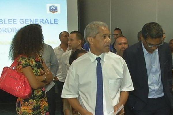 Noël Vidot, nouveau président de la Ligue de Football