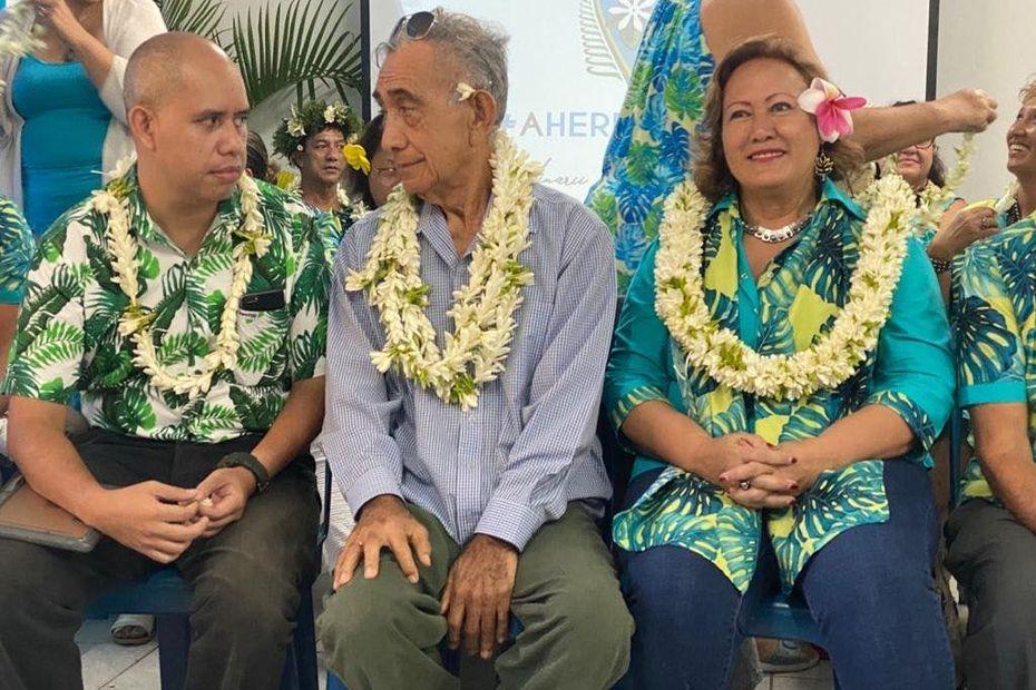 Oscar Temaru annonce une liste d'union baptisée Tapura Tahoeraa Tavini à Faa'a - Polynésie la 1ère