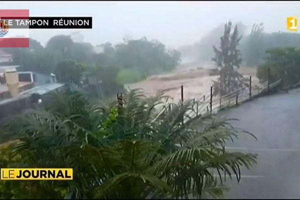 La tempête Berguitta a touché le sud de La Réunion