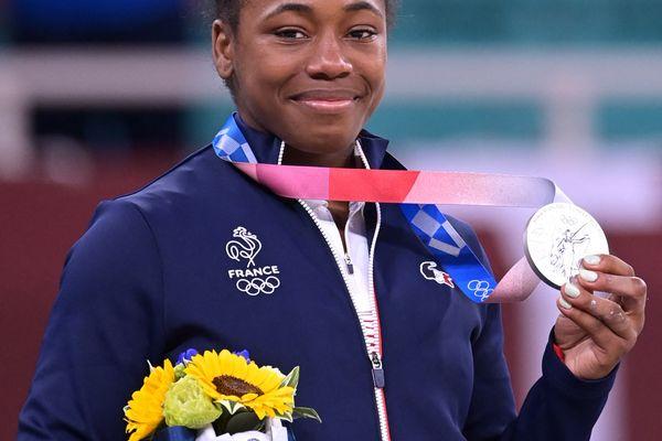 Sarah-Léonie Cysique, médaillée d'argent JO Tokyo