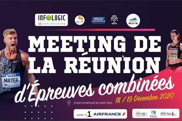 Affiche du meeting de La Réunion
