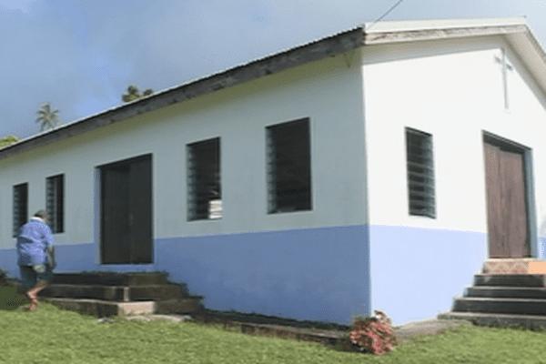 la chapelle de Faka'utu
