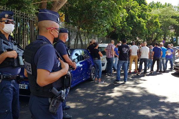 Les policiers en colère