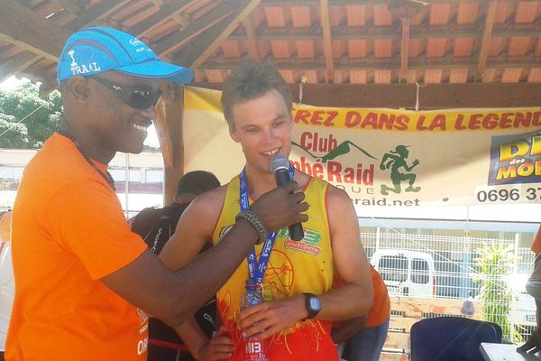 Clément Brière vainqueur des 34 km de la Mythik