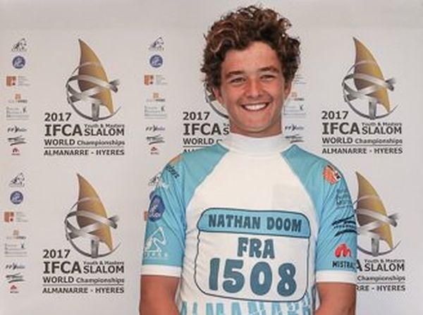 Nathan Bloom, champion du monde juniors