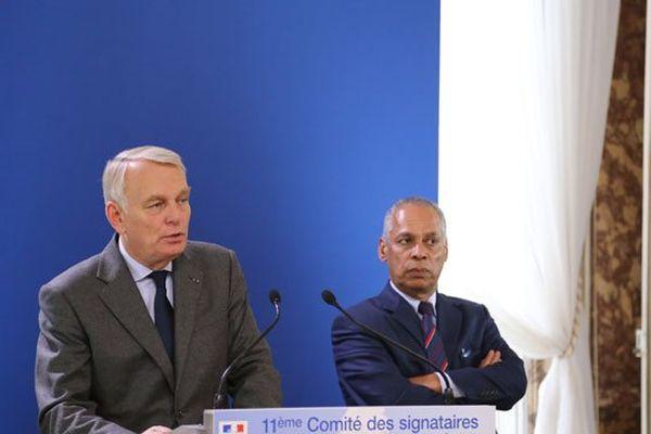 Ayrault et Lurel Comité des signataires