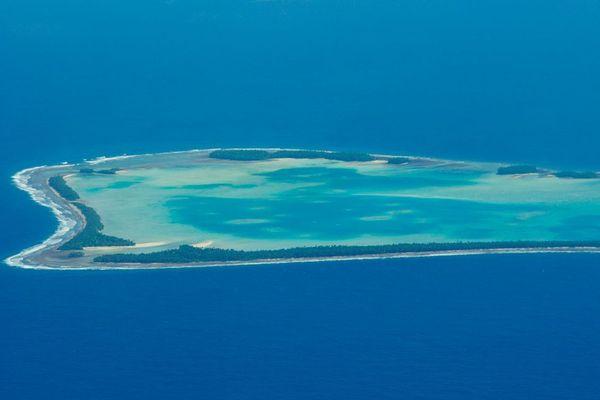 Atoll des Tuvalu en 2011, wiki commons