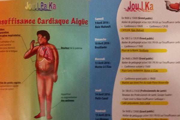Guadeloupe: sensibiliser contre l'insuffisance cardiaque