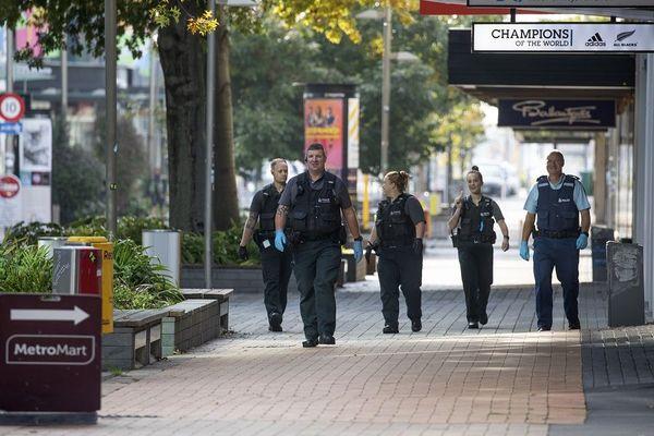Policiers en Nouvelle-Zélande