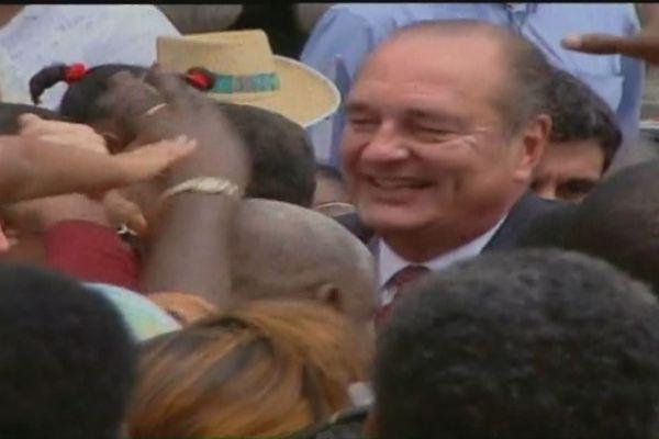 Chirac et la Martinique