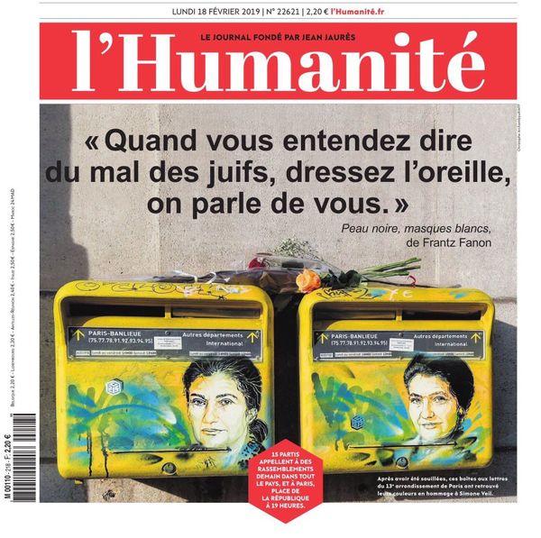 Une l'Humanité Fanon