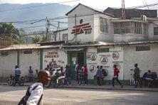 Clinique du quartier de Martissant, à Port-au-Prince, le 2 décembre 2020.