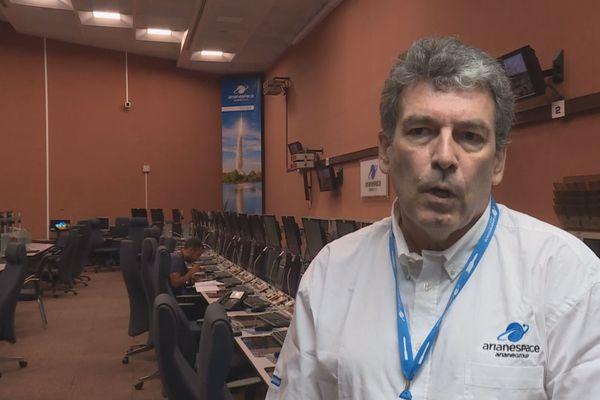 Bruno GERARD Directeur Arianespace Guyane