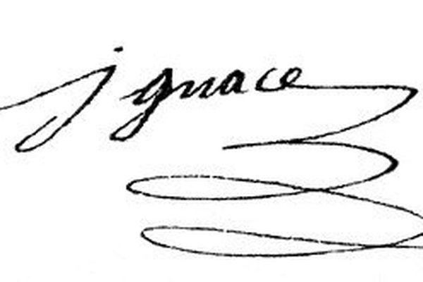 Signature d'Ignace