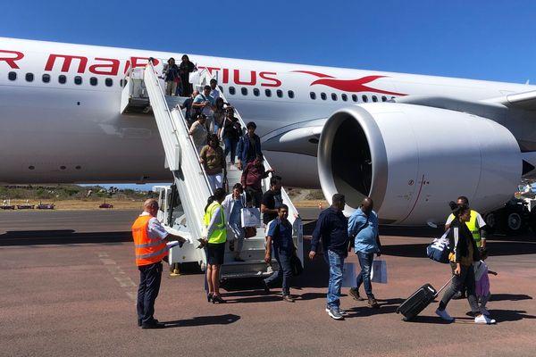 L'A330 - 900neo d'Air Mauritius a atterri ce samedi 7 septembre sur la piste de l'aéroport de Pierrefonds.