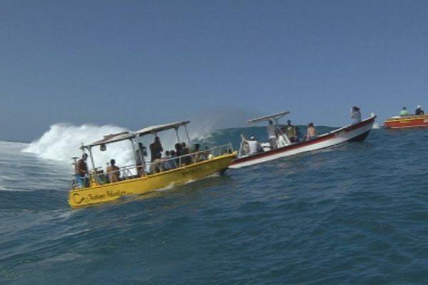 bateau Teahupo'o-sécurité