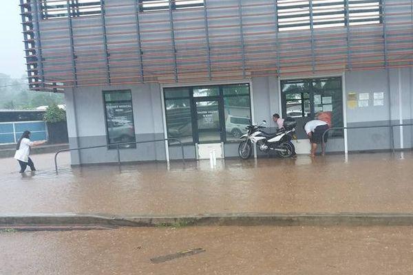 Inondations côte ouest
