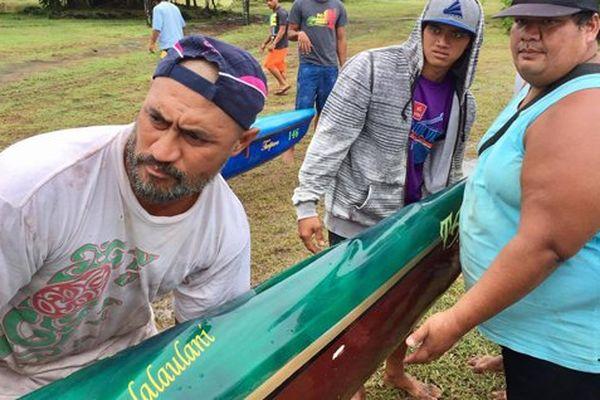 Pésee pirogue Marathon Vaa Polynésie 1ère