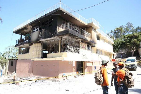 Orphelinat incendié Haïti février 2020