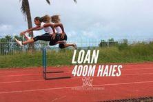Les espoirs du sport calédonien : Loan Ville, 400 mètres haies