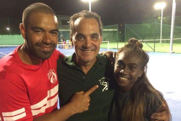 Tennis : Nicolas N'Godrella et Yaelle Honakoko ont remporté dimanche l'Open d'Auteuil