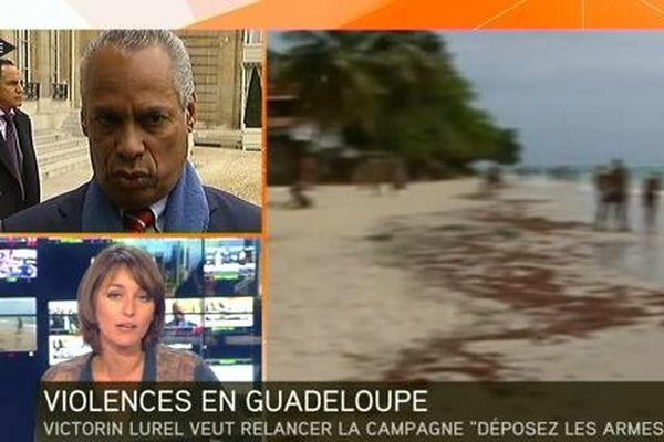 I télé violences Guadeloupe