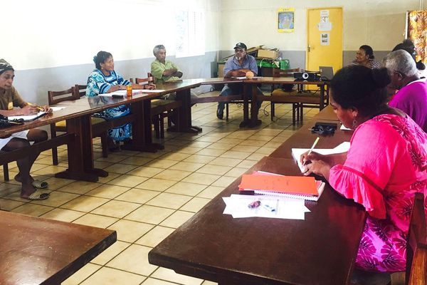 Tirailleurs de Pouébo: Rencontre entre le comité Phaa nemi et l'association In Memoriam, janvier 2019