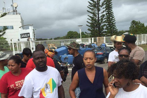 Grève à Canal Antilles-Guyane