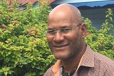 Will Martial assistant médical sur le tour cycliste de Martinique.
