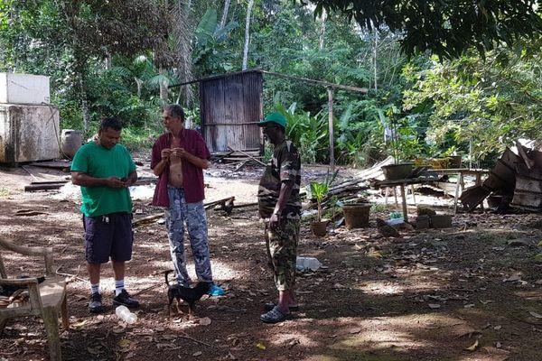 Comment reconstruire son carbet avec des matériaux de la forêt, face à la police de l'ONF ?