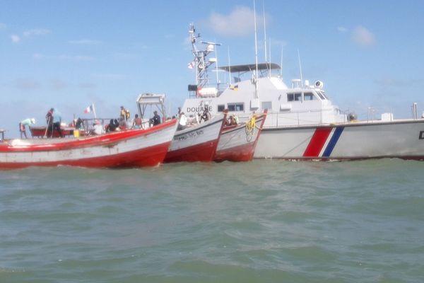 Plusieurs embarcations ont été contrôlées