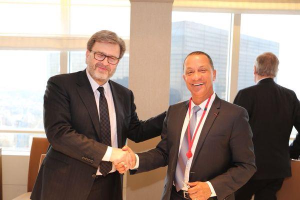 Accord-cadre entre la CTG et Total