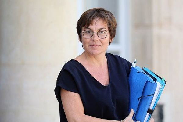 La ministre des Outre-mer, Annick Girardin à l'Élysée, le 24 juillet 2019.