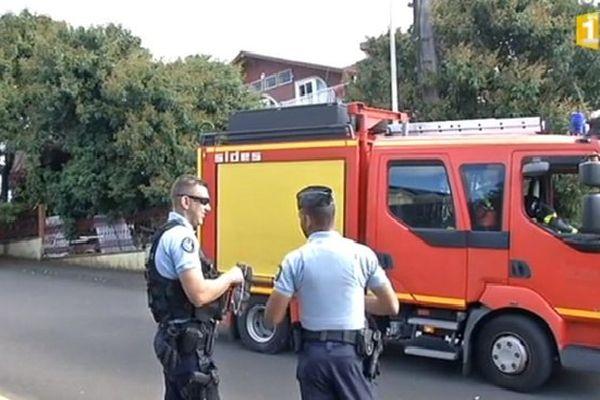 Incendie mortel Bras-Panon Août 2016