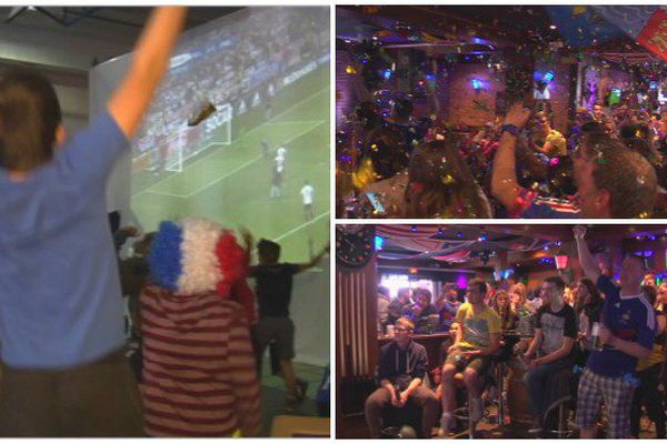 Les Bleus en finale de l'Euro 2016 : ambiance à Saint-Pierre