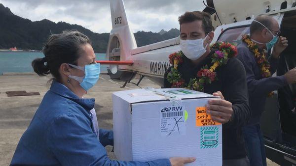"""Rapa, île """"covid free"""", n'échappe pas à la campagne de vaccination"""