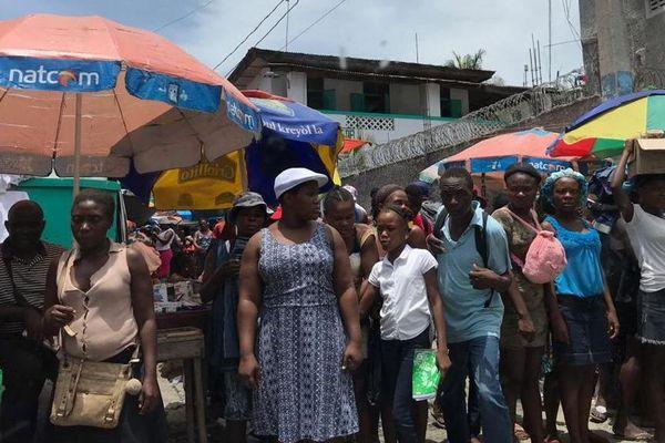 Habitants haïtiens