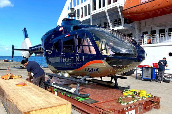 un nouvel hélicoptère pour les îles marquises